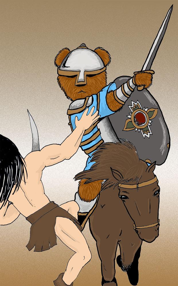 bear-back-rider